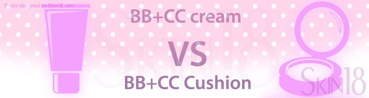 Differences between BB+CC cream and BB+CC Cushion?