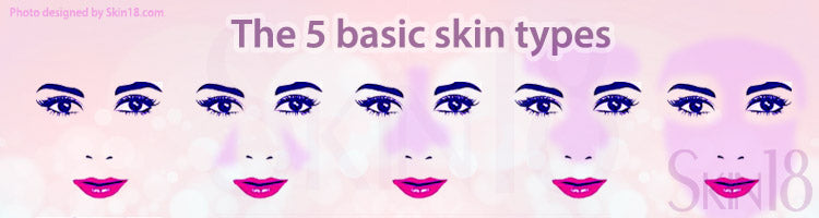 The five basic skin types and caring for them