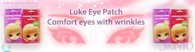Luke Eye Patch to comfort your eyes with wrinkles