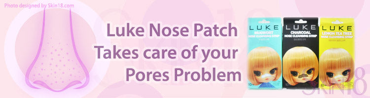 Luke Nose Patch with different ingredients to take care of your pores problem