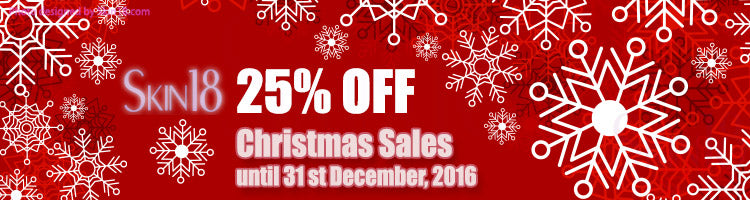 Christmas Sales 2016 [ 25% OFF on ALL ITEMS ] until 31 st December, 2016