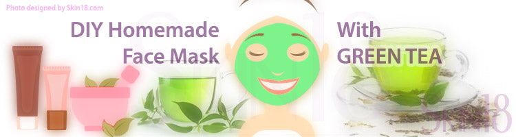 DIY Homemade mask recipe - Green Tea!