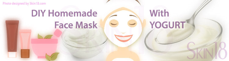 DIY Homemade mask recipe - Yogurt