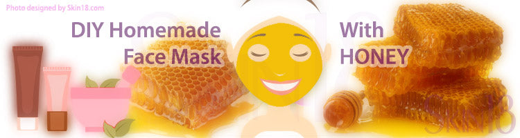 DIY Homemade mask recipe - Honey