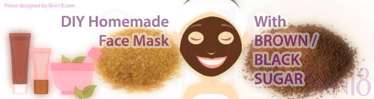 DIY Homemade mask recipe - Brown Black Sugar