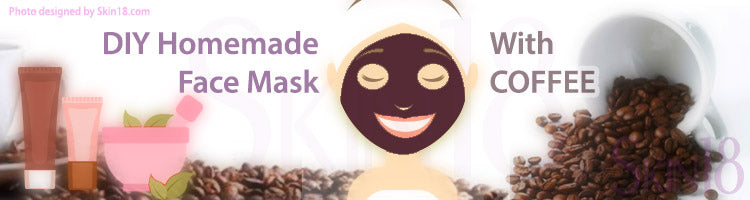 DIY Homemade mask recipe - Coffee