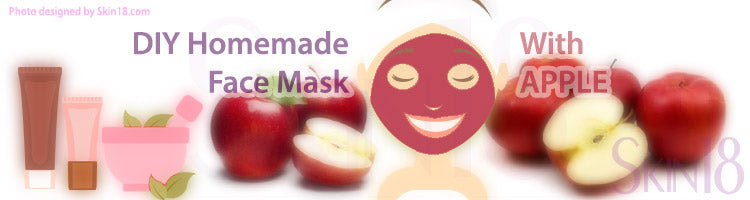 DIY Homemade mask recipe - Apple