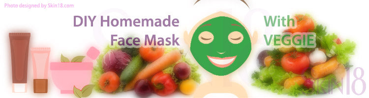 DIY Homemade mask recipe - Veggie