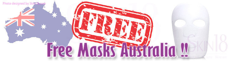 Great News -- Free Mask offering to Australian!!