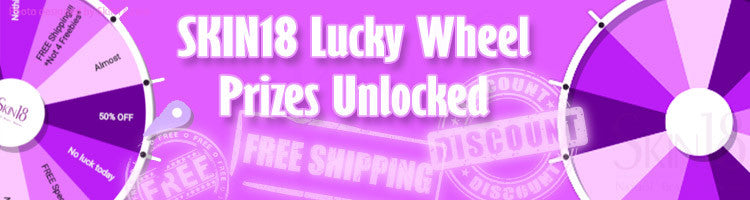 SKIN18 Lucky Wheel Prizes Unlocked