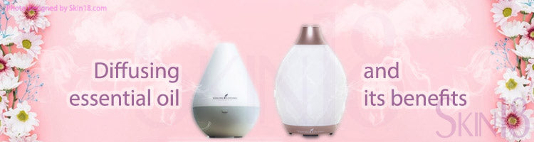 Diffusing essential oil and its benefits