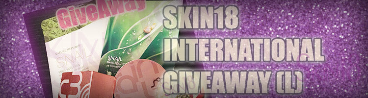 SKIN18 INTERNATIONAL GIVEAWAYS DECEMBER 2015 (L)