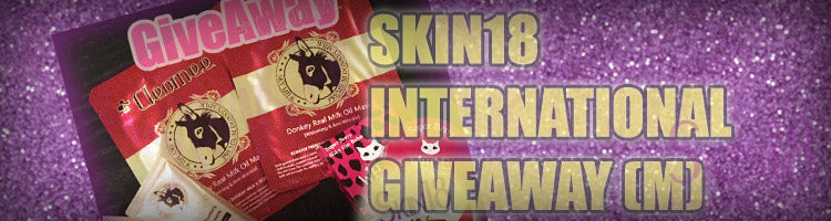 Skin18 International Giveaway (M)