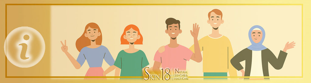 Your role at skin18.com