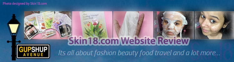 (Blogger : gupshupavenue.com) Skin18.com Website Review