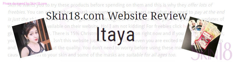 (Blogger : itaya.in) Skin18.com Website Review