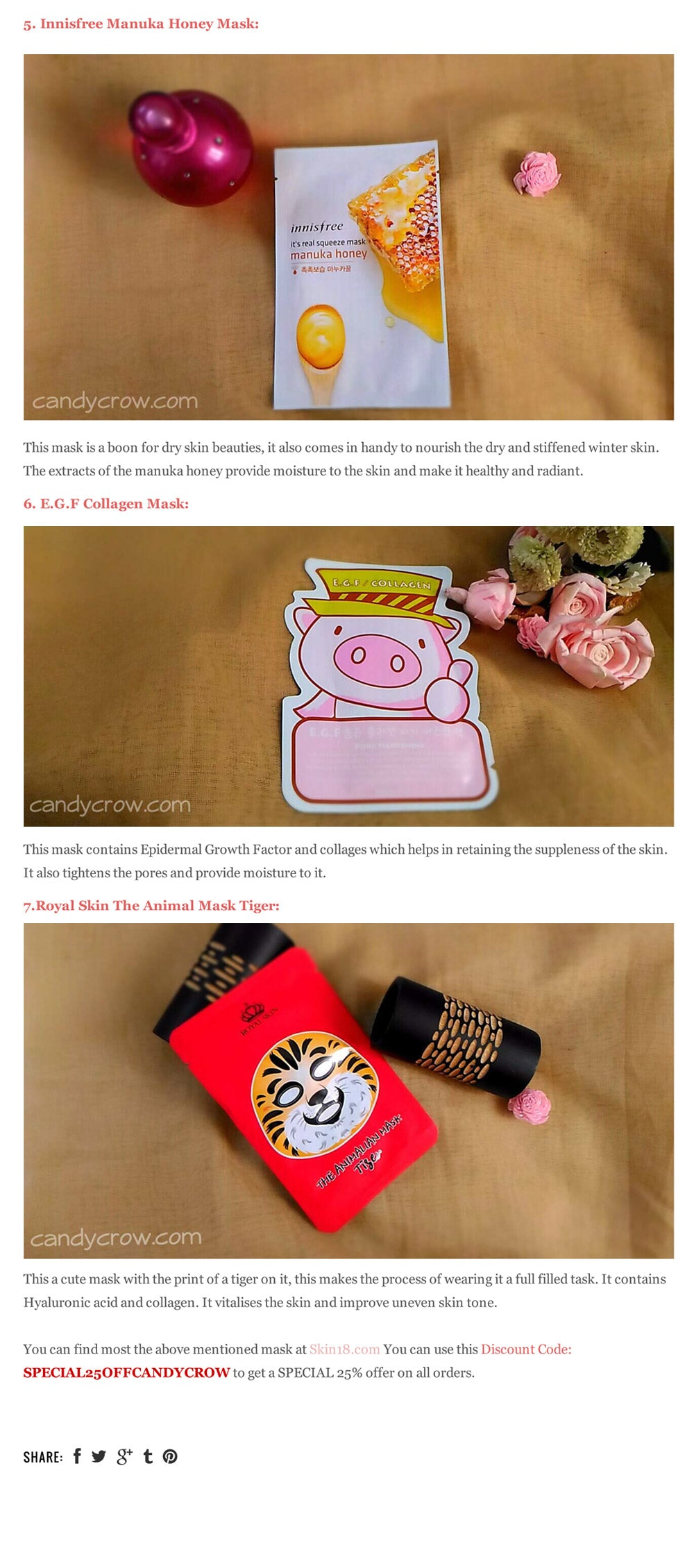 7 Must Try Korean Beauty Masks