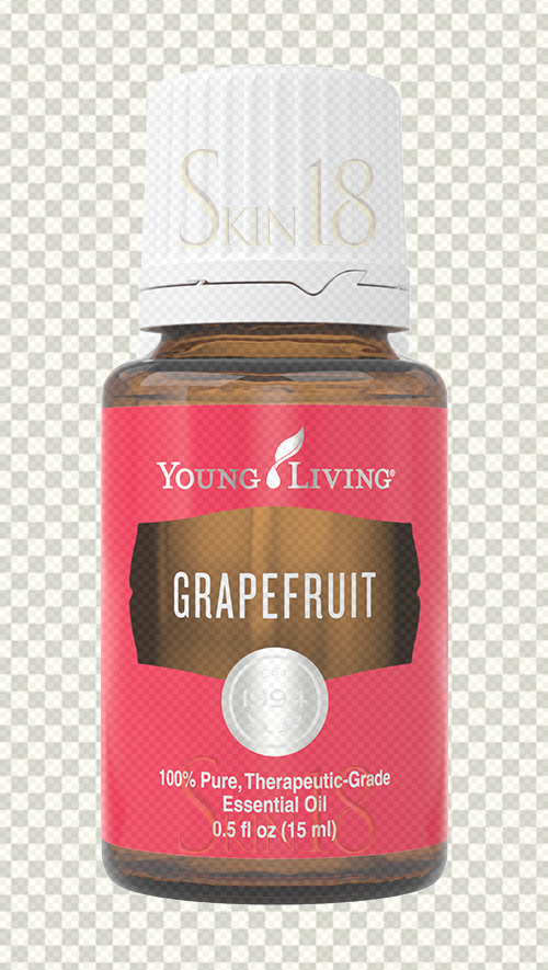 Download | GrapeFruit Essential Oil | Young Living | PNG