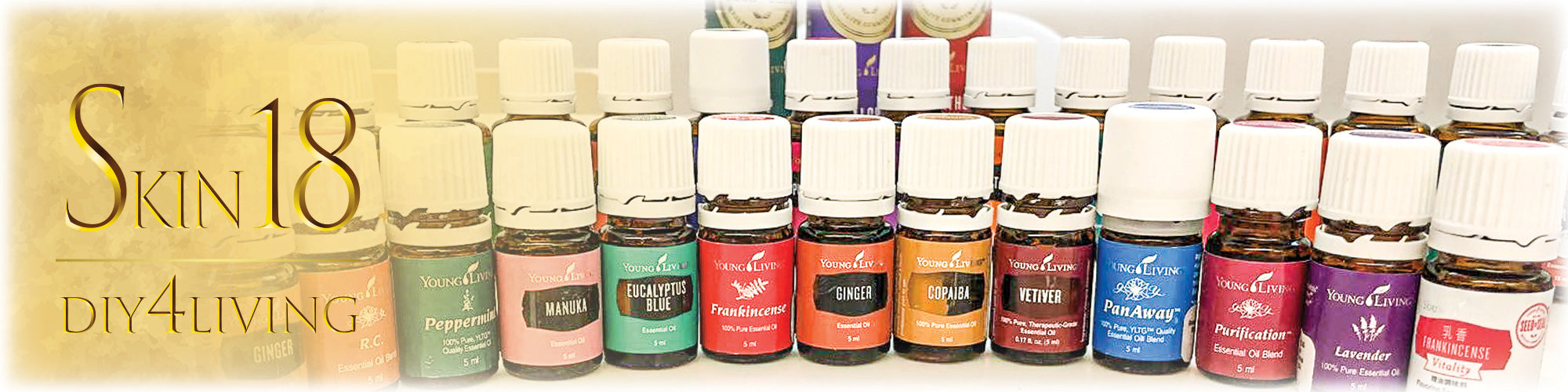 D.I.Y Tips with essential oils | DIY4Living @Skin18