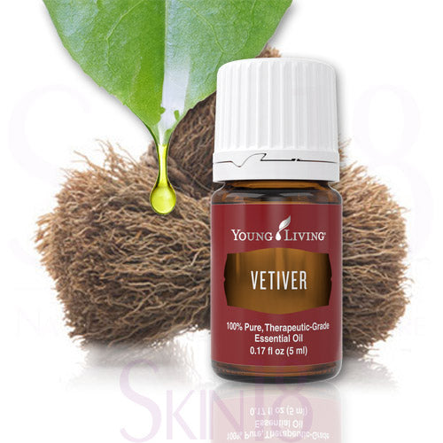 Vetiver Essential Oil Single