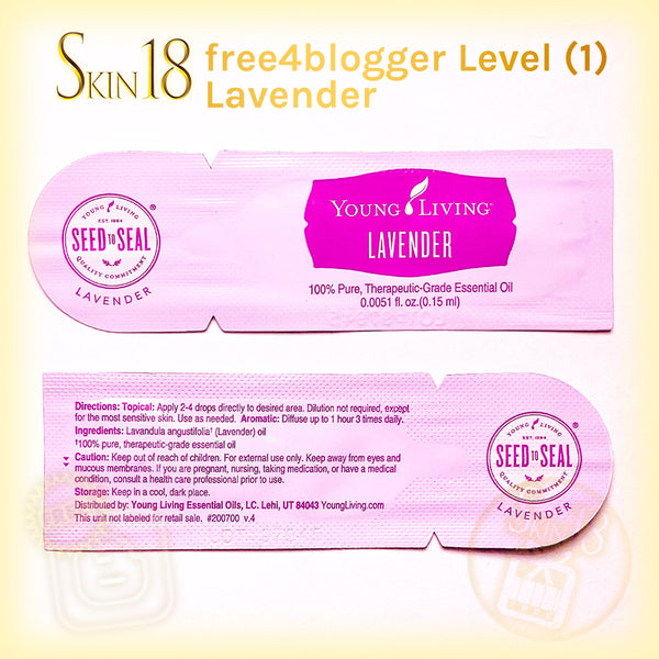 (FREE) free4blogger level#1 - Essential oil Samples (0.15ml)