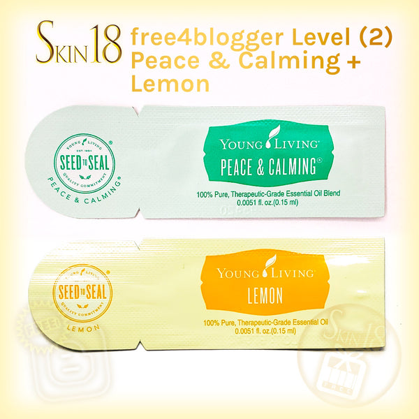 (FREE) free4blogger level#2 - Essential oil Samples (0.15ml) x 2