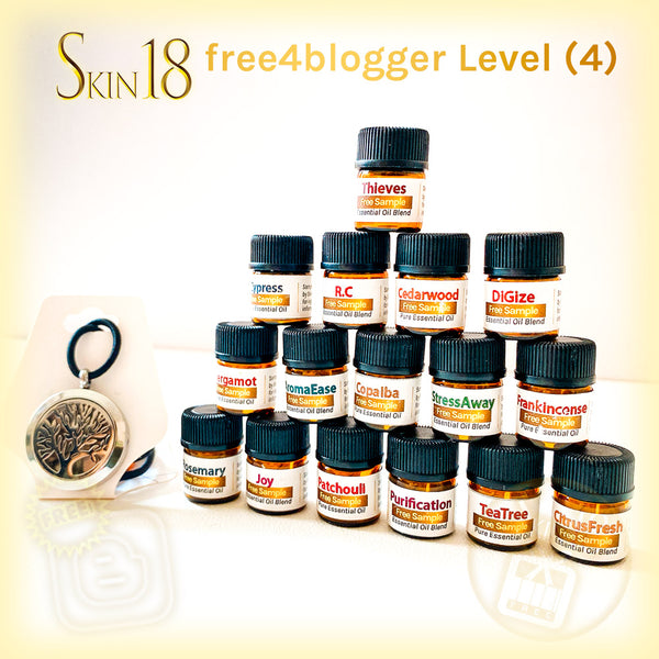 (FREE) free4blogger level#4 - Necklace + Essential Oils