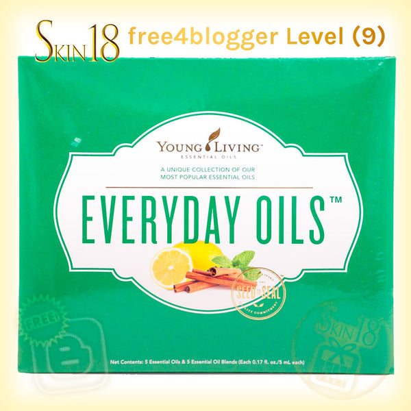 (FREE) free4blogger level#9 - Everyday Oils EO Collection