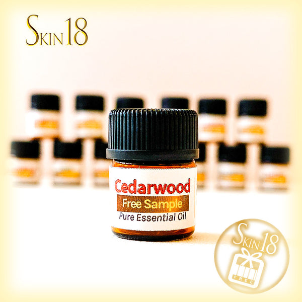 (FREE) Pure essential oil sample - 02 Cedarwood (1.5ml)