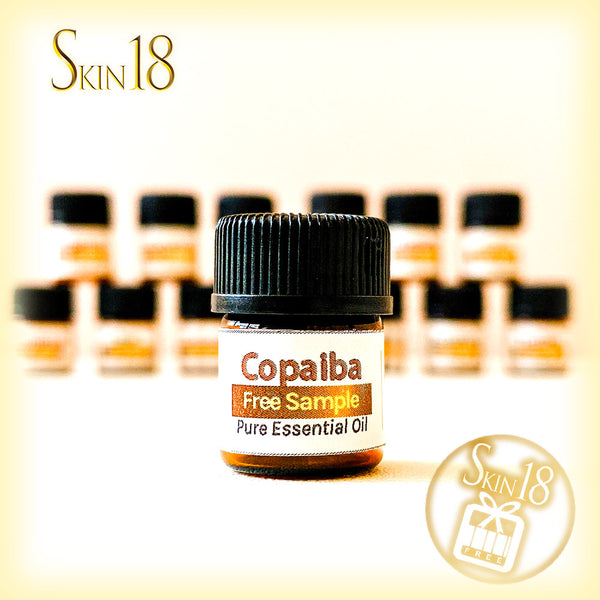 (FREE) Pure essential oil sample - 03 Copaiba (1.5ml)
