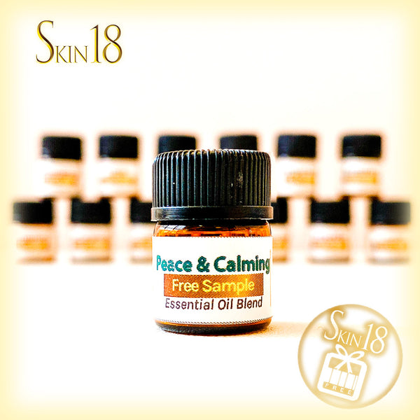 (FREE) Essential oil Blend sample - 21 Peace and Calming (1.5ml)
