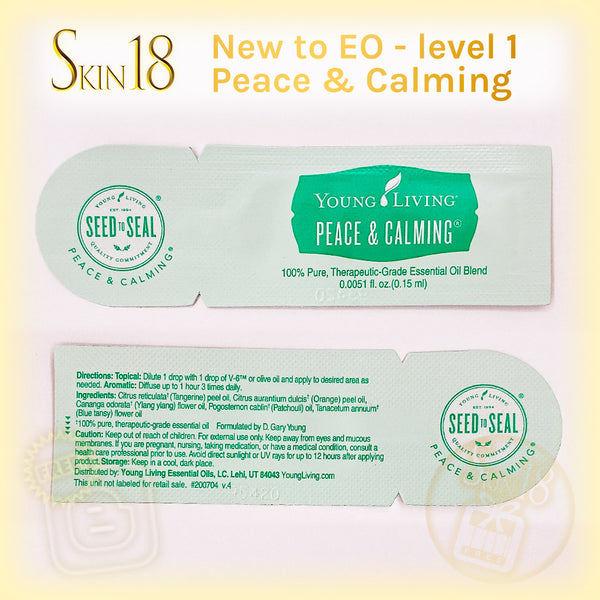 (FREE) newtoEO level#1 - Essential oil Samples (0.15ml)