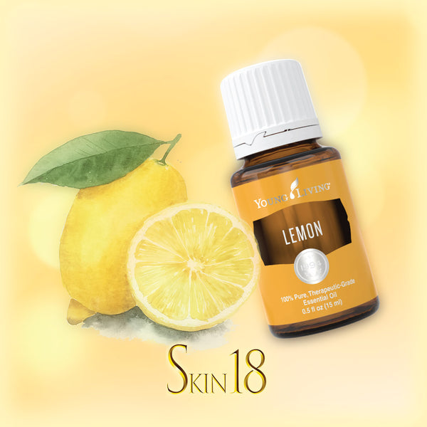 Lemon Essential Oil Single