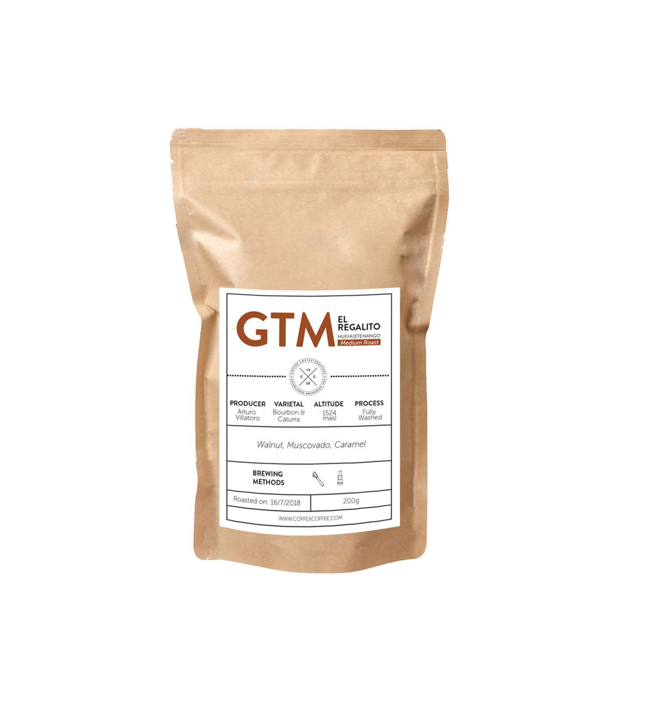 SINGLE ORIGIN : Guatemala El Regalito (Medium Roast)