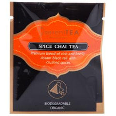 sereniTEA Spice Chai - Enveloped Pyramid Tea Bags (20 pcs)