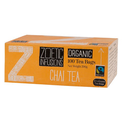 Zoetic Infusions Fairtrade Organic Chai Tea (100 tea bags/box) (RP: RM 54.50)