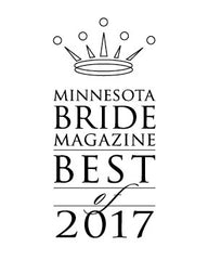 Minnesota Bride magazine Best of 2017 Award - Men's Accessories
