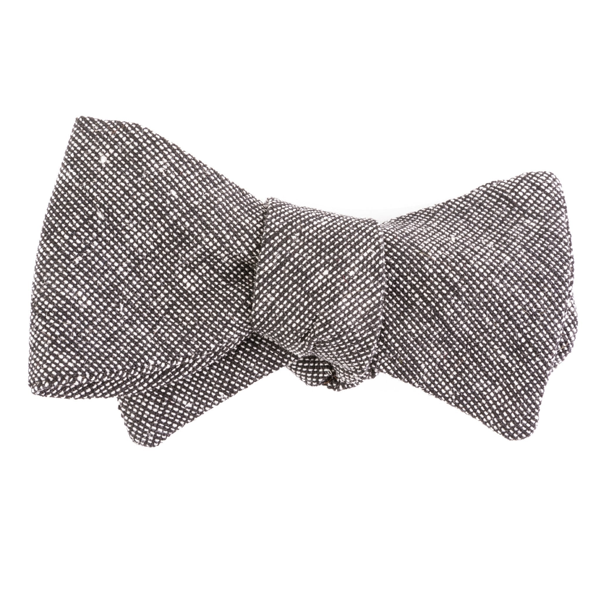 Two-Tone Linen Bow Tie
