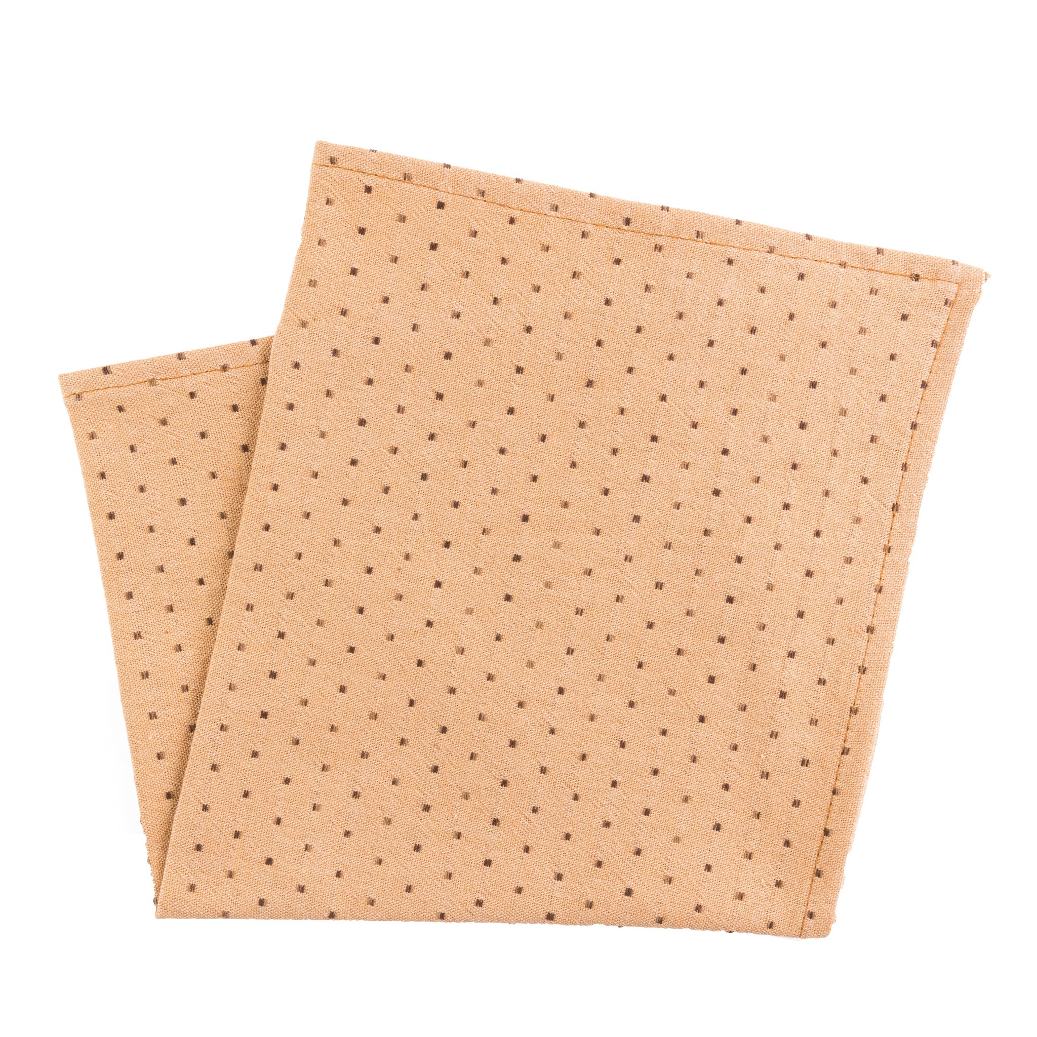 Camel Dot Pocket Square