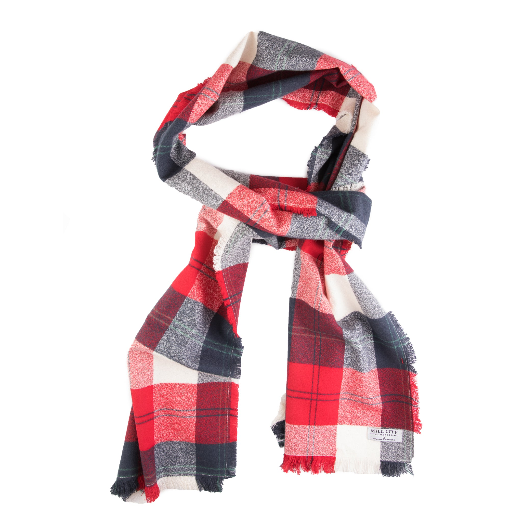 Valley Forge Plaid Flannel Scarf