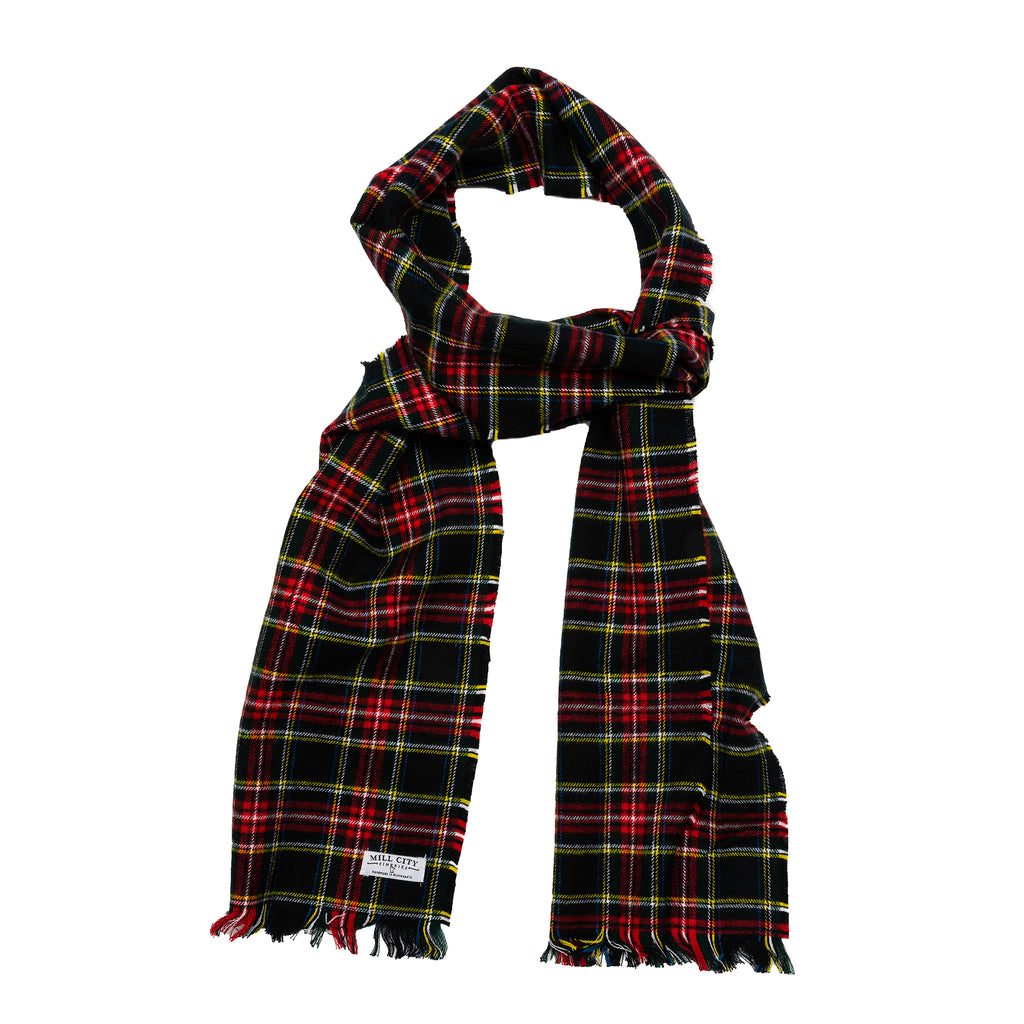 Highlander Tartan Plaid Flannel Scarf