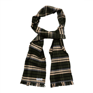 Happy Wanderer Plaid Flannel Scarf