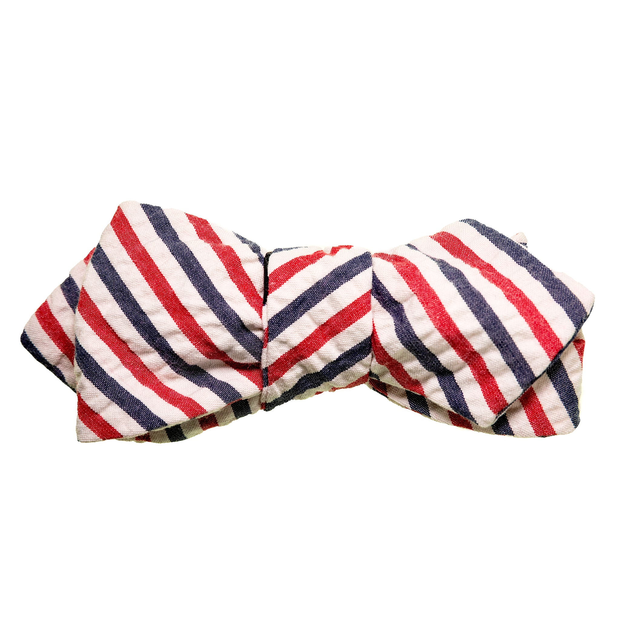 All-American Seersucker Bow Tie