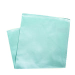 Seafoam Iridescent Silk Pocket Square