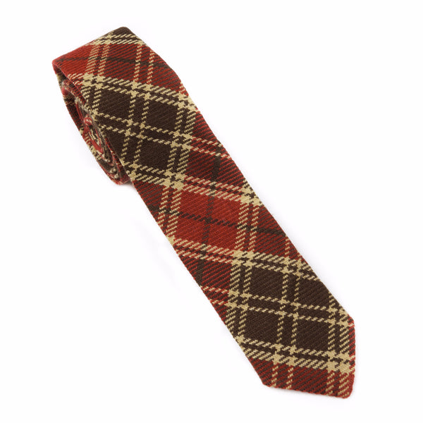 Cabin Holiday Plaid Necktie