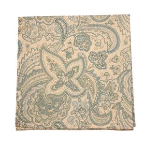 Antique Paisley Pocket Square