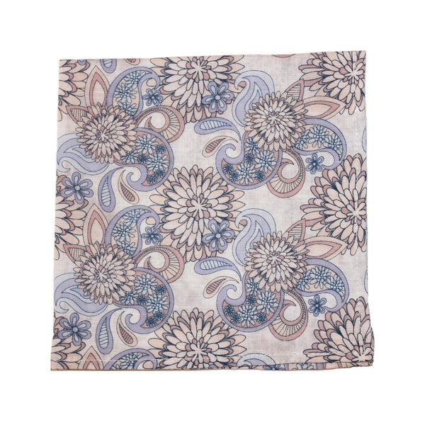 Dandy Blossom Pocket Square