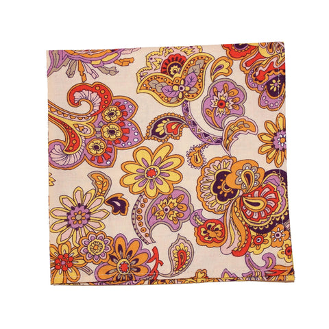 Artist's Paisley Pocket Square