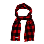 Buffalo Check Flannel Scarf