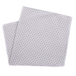 Gray Dot Pocket Square